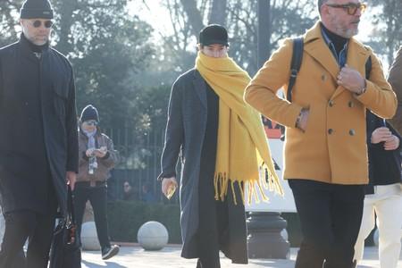 Alerta Amarilla Pitti Uomo Yellow Looks Street Style 2020 02