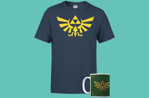 Camiseta y Taza de Zelda