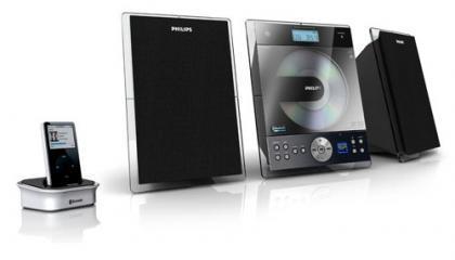 Dos nuevos sistema de sonido de Philips para el iPod y blueotooth