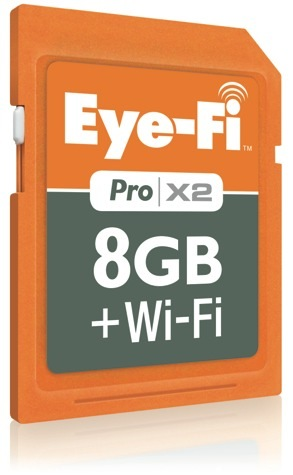 Eye-Fi Pro X2, con 802.11n y memoria ilimitada