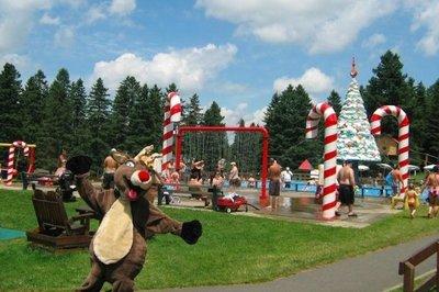 El parque temático de Papá Noel en Canadá