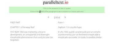Esta web te ayuda a aprender inglés (y otros idiomas) leyendo libros clásicos en dos idiomas a la vez
