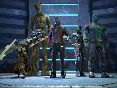 Guardianes de la Galaxia: The Telltale Series, ya a la venta su primer episodio en Google Play