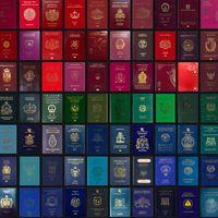 Curiosidades viajeras: el significado de los colores del pasaporte
