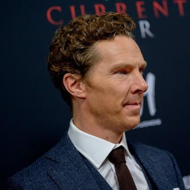 Benedict Cumberbatch da con el perfecto traje de lana para llevar en invierno a la oficina