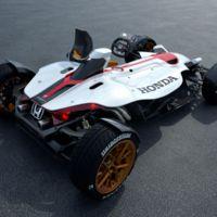 Honda Project 2&4, el coche con motor de MotoGP