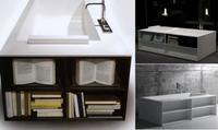 Bañera para lectores de Antonio Lupi