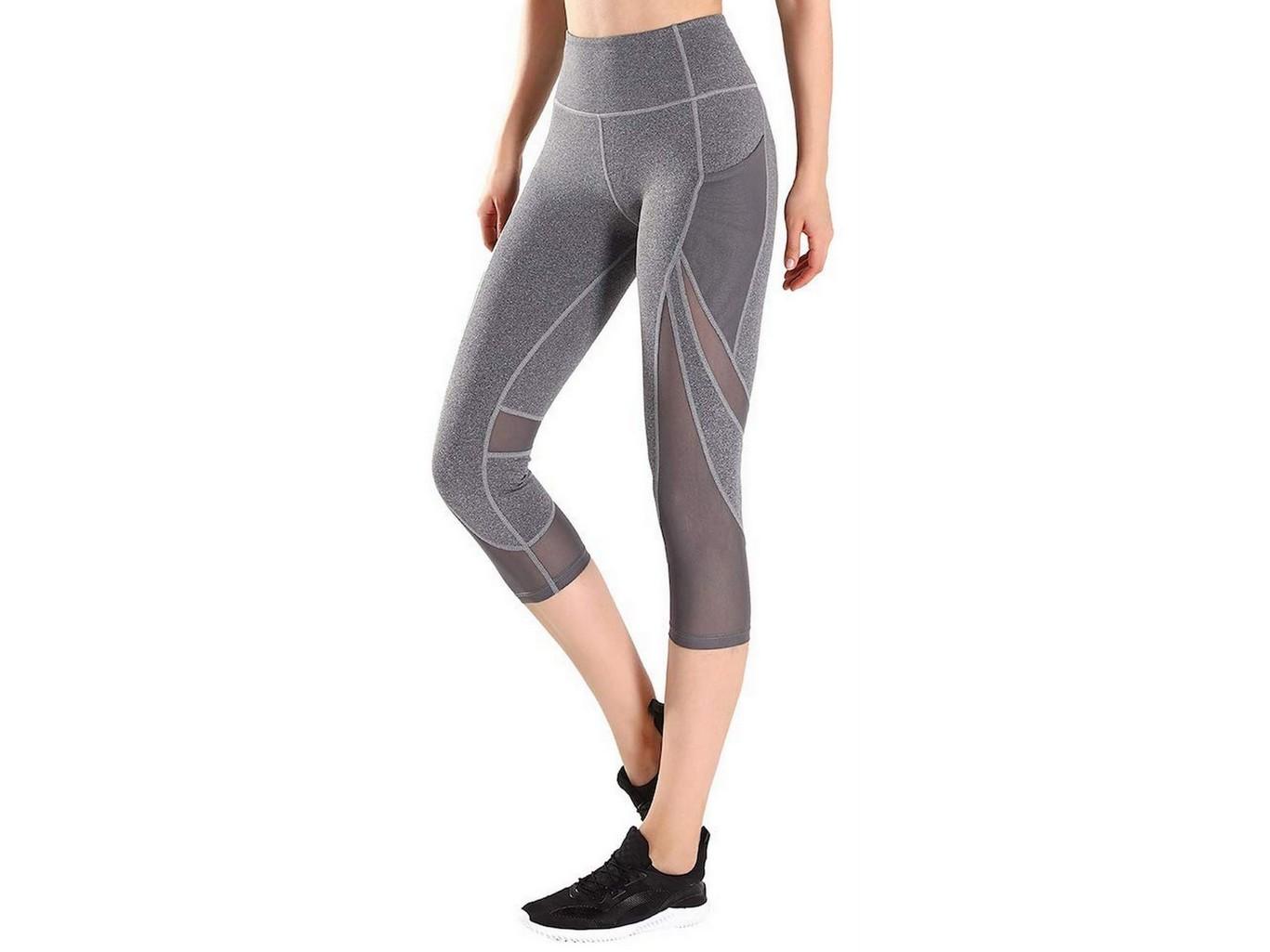 Pantalones holgados en color Gris para practicar Yoga