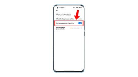 Desactivar Marca Agua Xiaomi