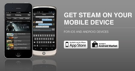 Steam llega a iOS y Android