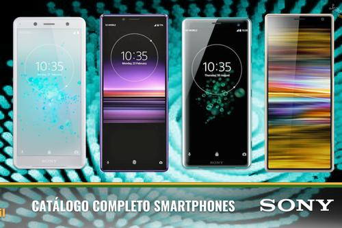 Sony Xperia 1, Xperia 10, 10 Plus y L3, así encajan dentro del catálogo completo de smartphones Sony en 2019