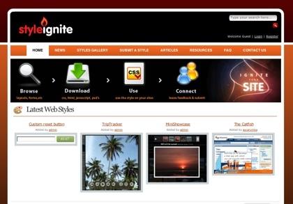 Styleignite, comunidad de usuarios enfocada el buen diseño web