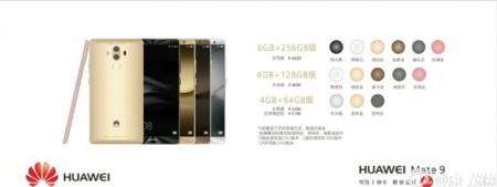 Huawei Mate 9 Precios