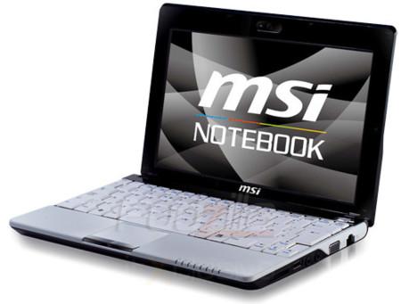 MSI U300 y Wind con pantalla táctil
