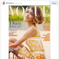 12 años después, una modelo negra vuelve a la portada de Vogue UK: Jourdan Dunn