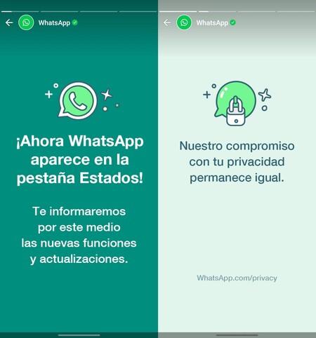 Whatsapp Estados Publicidad