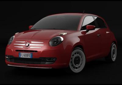 Fiat 600 Design Concept, el 'Punto' entre un 500 y un MiTo