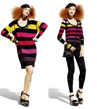 Sonia Rykiel para H&M, Primavera-Verano 2010: rayas y pocos colores
