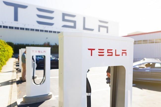 Supercargador Tesla Fremont