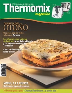 Thermomix magazine, una nueva revista de cocina