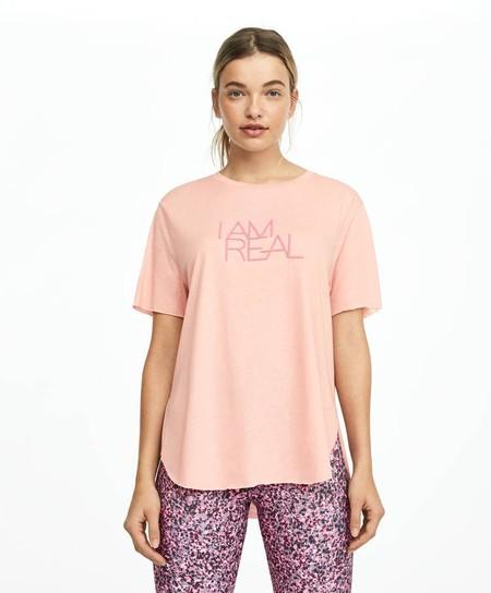 Camiseta mensaje algodón