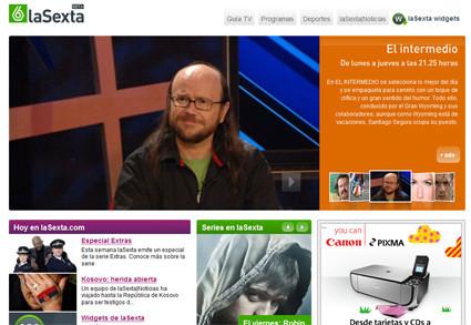 Nueva web de La Sexta, por fin