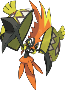 Pokemon Sol Luna Tapukoko