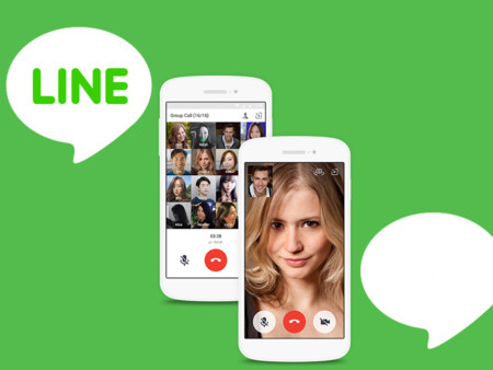 Line Videocall