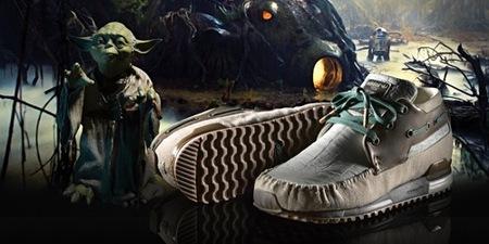 Adidas y Star Wars, la colaboración más espacial de 2010, Yoda