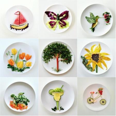 Lauren Purnell, convirtiendo la comida en arte