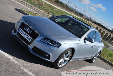 Audi A4 TDI Multitronic, prueba (parte 1)