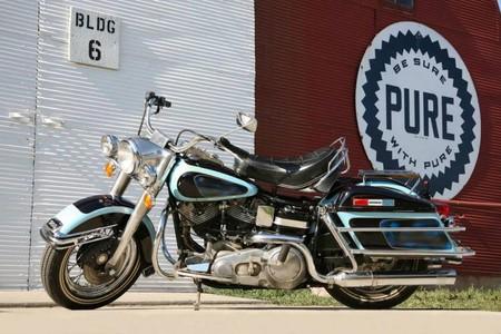 Esta Harley-Davidson ex-Elvis Presley iba a ser la moto más cara jamás subastada, pero al final no