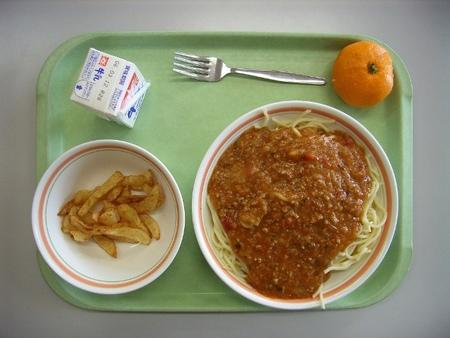 comida de colegio