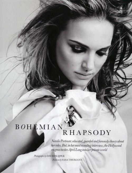 Foto de Todas las fotos de Natalie Portman para Elle: el cuento de la princesa romántica (2/8)