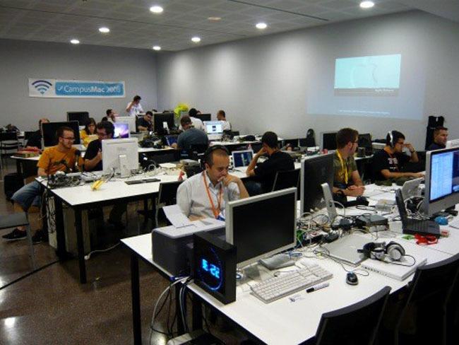 Panorámica de la CampusMac