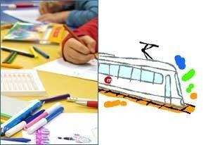 """Concurso de Dibujo Infantil """"Nadal al metro"""" en Valencia"""