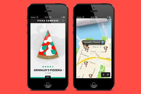 Pizza Compass, la aplicación que te guía hasta la porción de pizza más cercana