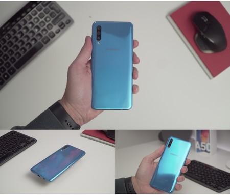 Samsung Galaxy A50 Review Xataka Trasera Reflejos