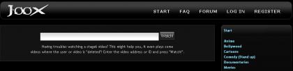 Joox, el youtube del divx en una calidad excelente