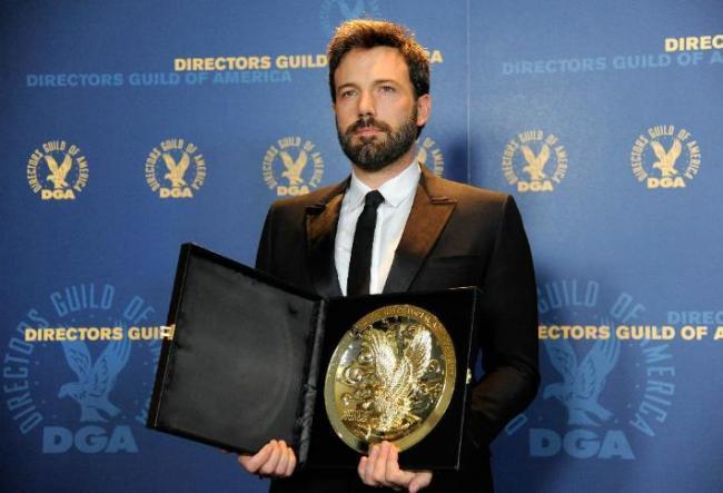 Ben Affleck con su premio