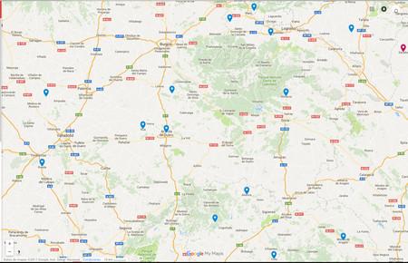 Ejemplo mapa apellidos fotógrafos Alberto Olivares