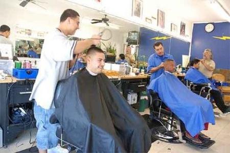 Miedos a la hora de ir a la peluquería, silla