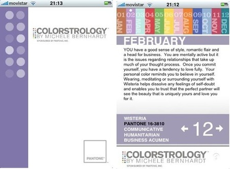 colorstrology pantone