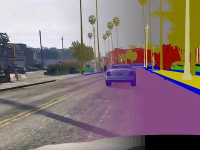 Los coches autonomos aprenden a conducir gracias a Gran Theft Auto