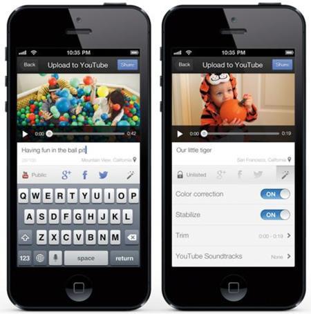 Capture, la nueva aplicación de Google para iOS