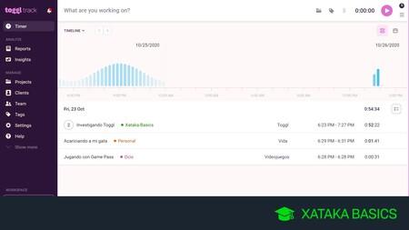 Cómo gestionar el tiempo que dedicas a tus tareas con Toggl