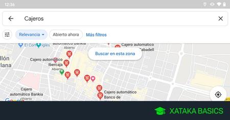 Cómo encontrar el cajero de tu banco más cercano en Google Maps