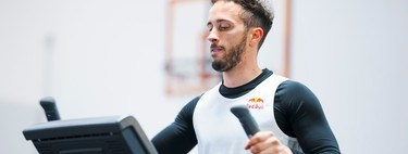 ¡Titánico! Dos días después de fracturarse la clavícula Andrea Dovizioso ya se machaca en el gimnasio