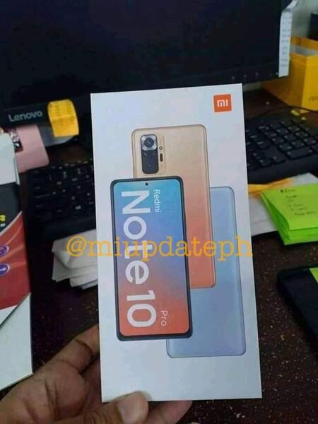 Xiaomi Redmi Note 10 Pro Imagen Filtrada
