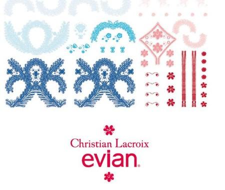 ¡Atención coleccionistas! Christian Lacroix diseña la botella del 10 aniversario de Evian